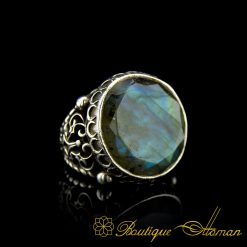 Labradorite One Of A Kind Rare Stone Ring