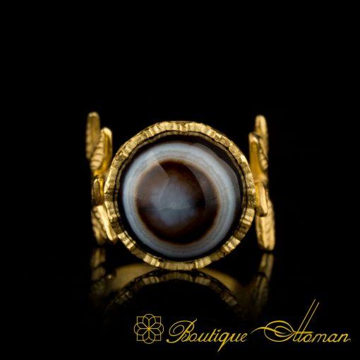 Sulemani Aqeeq Handmade Women Ring