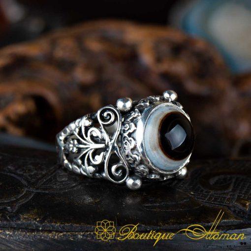 Real Sulemani Aqeeq Gemstone Ring-4