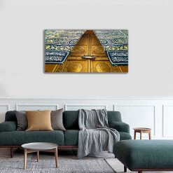 Door of the Kaaba Islamic Canvas Wall Art