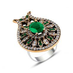 Ottoman Style Zircon Ring