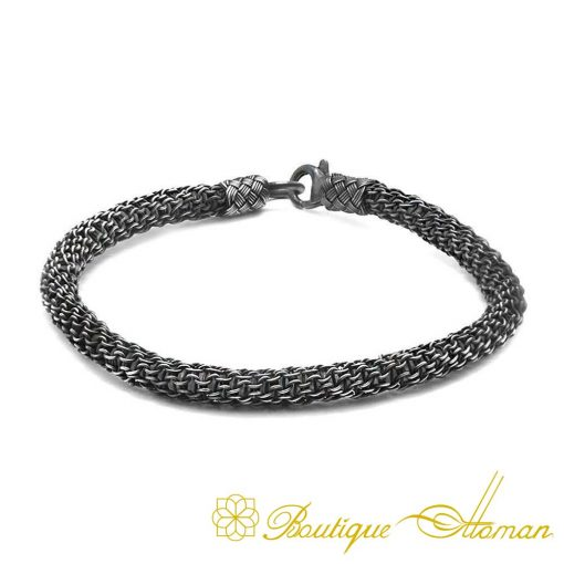 Kazaz Hand Knitted Bracelet-5