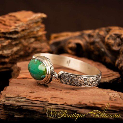 Rare Feroza Turquoise Bracelet 1