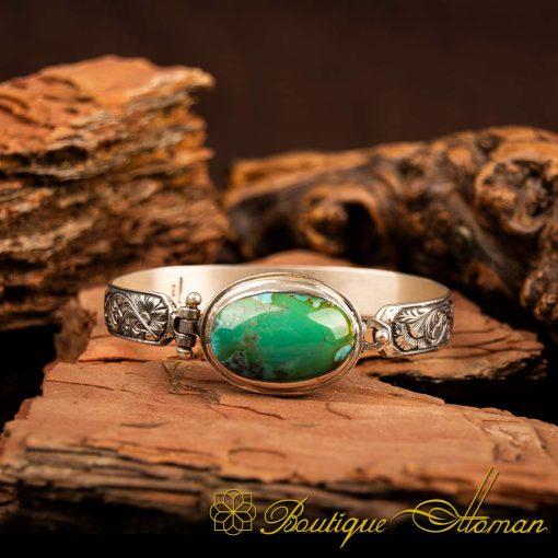 Rare Feroza Turquoise Bracelet 2