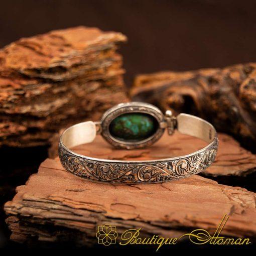 Rare Feroza Turquoise Bracelet 3