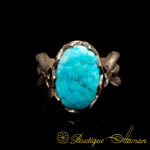 Turquoise Hand Made Women Ring