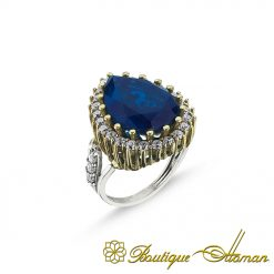 Hurrem Sultan Sapphire Ring